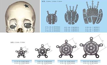 眶底板、盖孔板系列